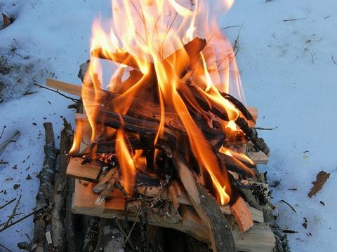 fondation yakasurvie feu sur le neige