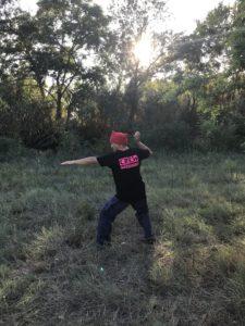 Position de tir pierre - Yaka Survie -